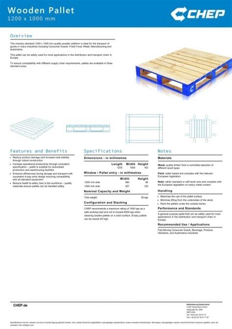 Wooden Pallet Dimensions Size   Pallet Design Ideas