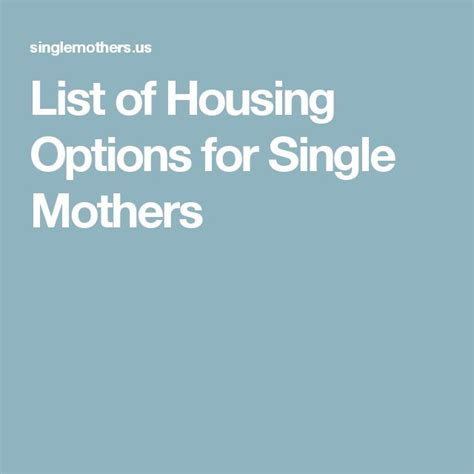 housing for single mothers best 20 single mother assistance ideas on pinterest