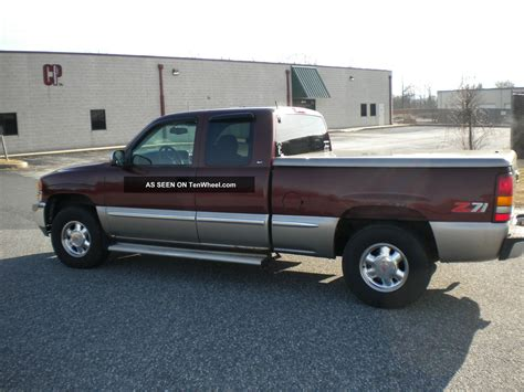 Three Door Truck by 1999 Gmc 1500 Sle Extended Cab 3 Door 5 3l