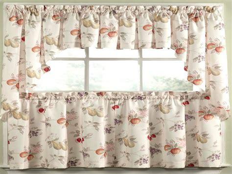 Kitchen curtains, summer fruit kitchen curtains apple
