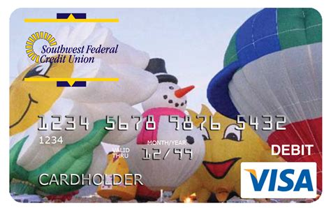 How To Check The Amount On A Visa Gift Card - visa debit card southwest federal credit union