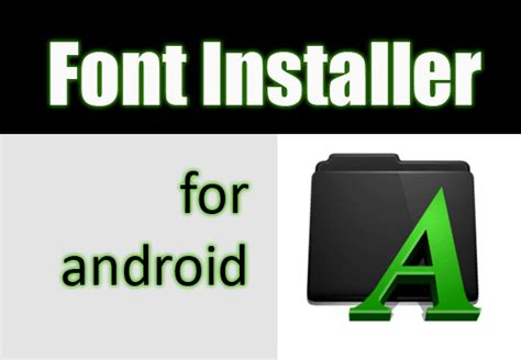 font apk free font installer apk best root apps