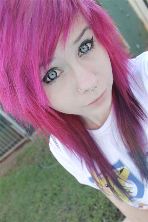 emo dyed hairstyles 137 best images about cool hair i like on pinterest