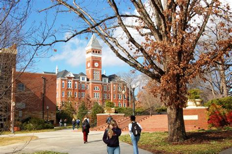 South Carolina Mba Ranking by Clemson Admissions Sat Scores And More