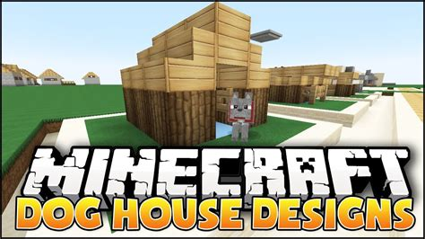 dog house design ideas minecraft dog house designs ideas youtube