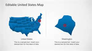 united states map powerpoint template united states map template for powerpoint slidemodel
