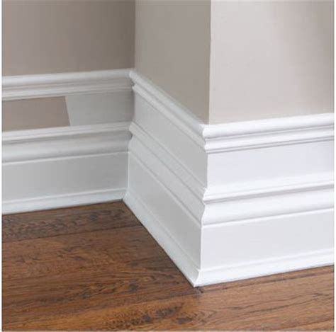 baseboard height create an exaggerated baseboard cool idea for adding