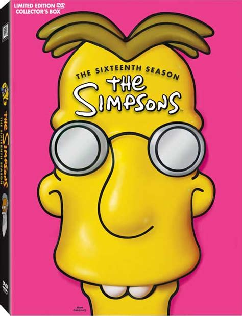 The Simpsons Graphic 16 the official season 16 dvd thread