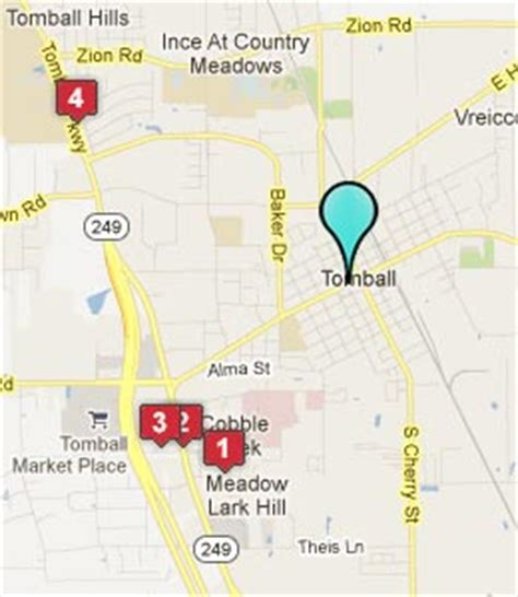 tomball texas map tomball hospital tomball tx
