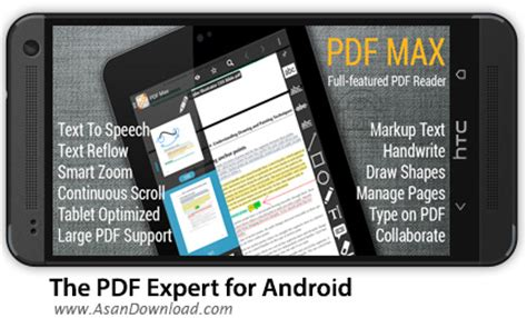 pdf expert for android دانلود the pdf expert for android پی دی اف خوان اندروید