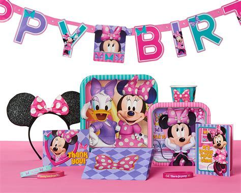 Minnie Mouse Party Supplies   Walmart.com