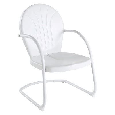 white metal chairs target griffith metal chair in white finish target