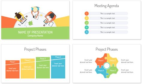 Staff Meeting Powerpoint Template Presentationdeck Com Powerpoint Meeting Agenda Template