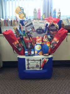 camping gift basket idea for silent auction
