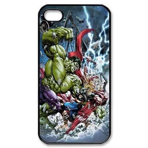 Thor Marvel Y0915 Iphone 5 5s Se Casing Custom Hardcase vs thor marvel superheroes clash cell phone