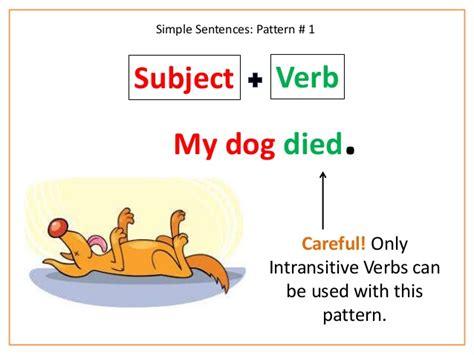 sentence pattern dalam bahasa inggris pola kalimat dalam bahasa inggris lengkap british course