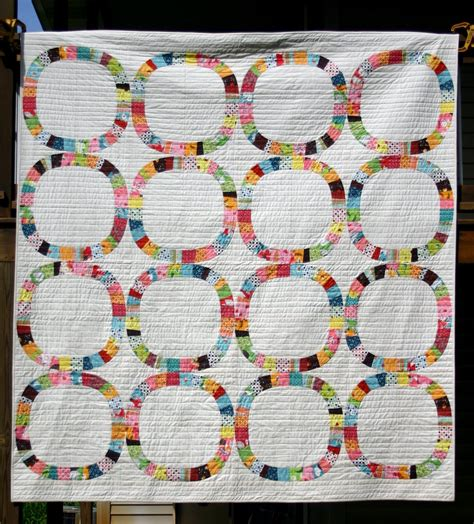 Single Wedding Ring Quilt Pattern Free by 18 Best Photos Of Modern Quilt Patterns