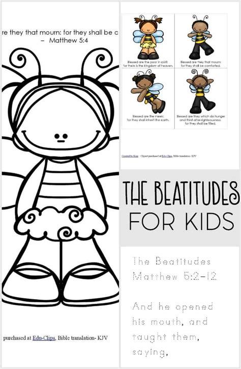 Exceptional Church Activities For Toddlers #2: The-beatitudes-printable-pack-for-kids.jpg