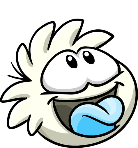 Cp Black White Bt49 image white puffletongue2 png club penguin wiki fandom powered by wikia