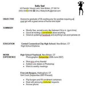 education world writing a resume student exercise