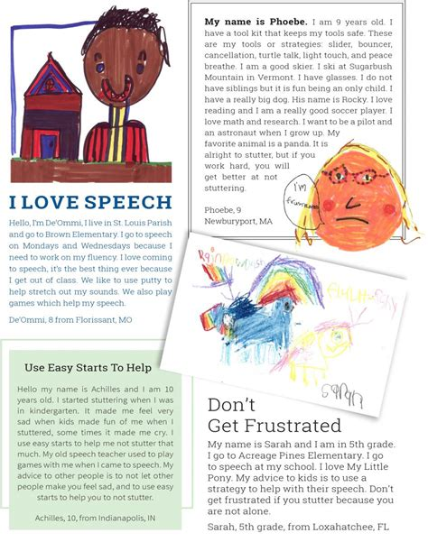Parent Letter Spelling City Drawings And Letters From Stuttering Foundation A Nonprofit Organization Helping Those