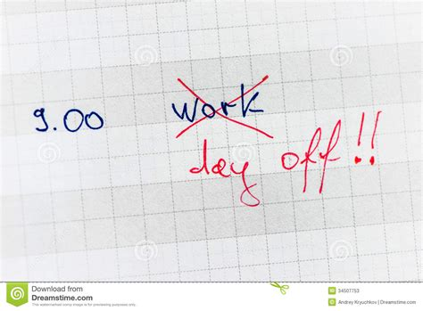 Sell Day Calendar Day Stock Image Image Of Office Business Diary
