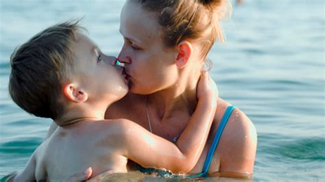 mom seduces son in bathtub son and mother bathing in sea by grey coast media videohive