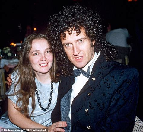 brian may young gwilym lee producers cut brian may s first wife out of bohemian
