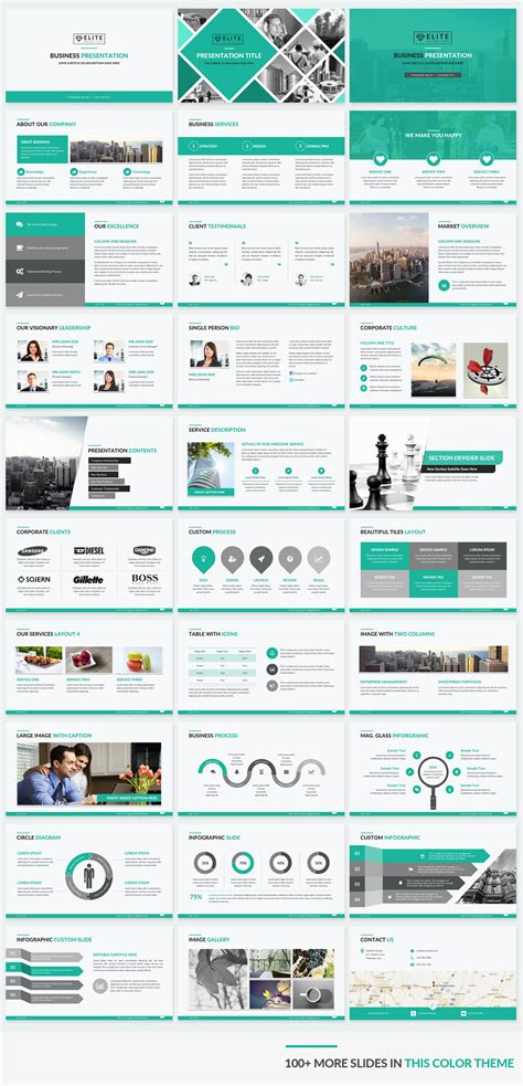 Elite Corporate Powerpoint Template Makes Your Presentation Slides Sizzle Powerpoint Templates For Website Presentation