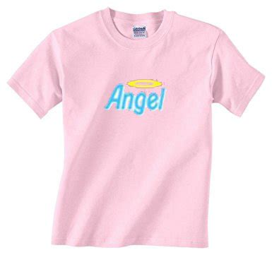 light pink t shirt angel t shirt