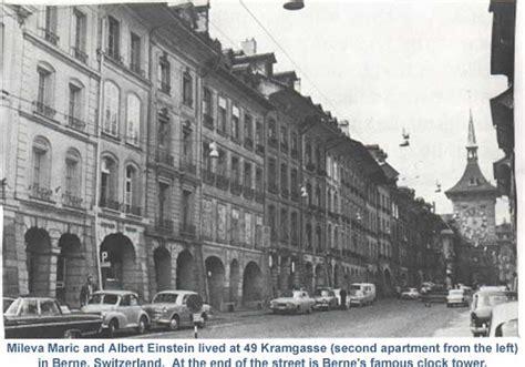 Einstein Apartment Zurich Albert Einstein