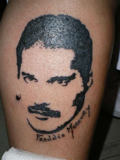 freddie mercury tattoo freddie mercury my