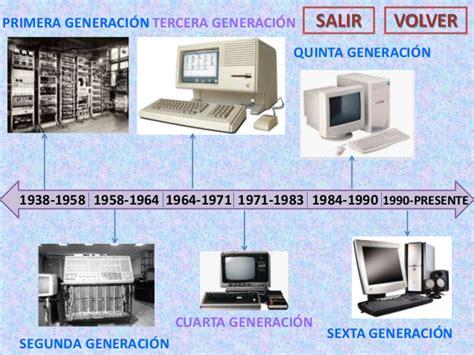 generacion de las computadoras trabajo generaci 243 n de las computadoras
