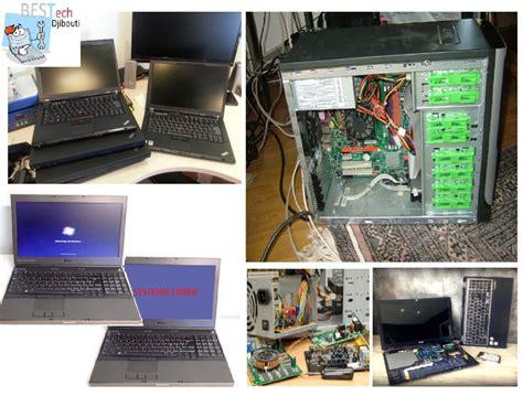bureau pc portable reparation des pc portable bureau maintenance 224 djibouti