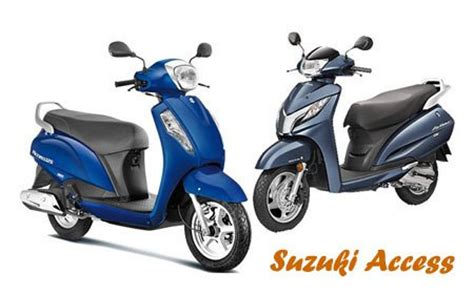 Tvs Suzuki Access Top 10 Best Scooty For In India 2017 Most
