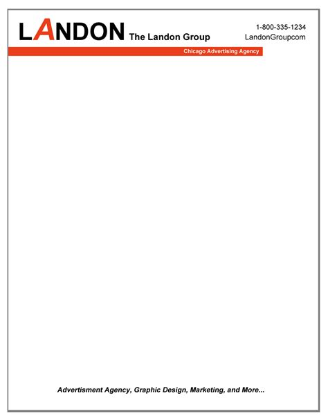 Business Letterhead Sle Business Letterhead Sle Business Letter