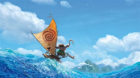 wallpaper disney animation wallpaper moana 2016 movies 4k 5k disney animation