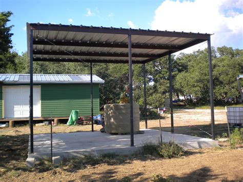 steel awnings carports all steel awning blanco texas carport patio covers