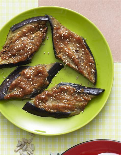 recette cuisine aubergine aubergines au miso pour 6 personnes recettes 224 table