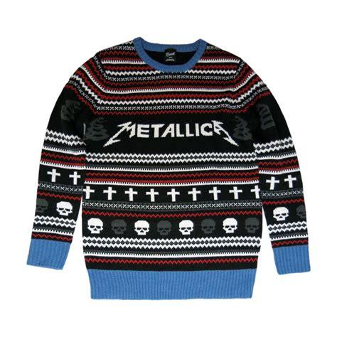 metallica xmas jumper the sweater that should not be metallica