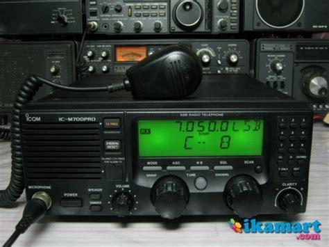 Icom Ic 718 Radio Hf Ssb Murah Bergaransi Resmi Teknologi jual radio hf ssb icom ic m700 pro murah bergaransi