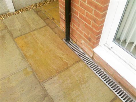 patio drainage products patios cheshire
