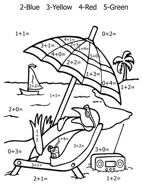 math related coloring pages 1st grade coloring math worksheets simple coloring pages