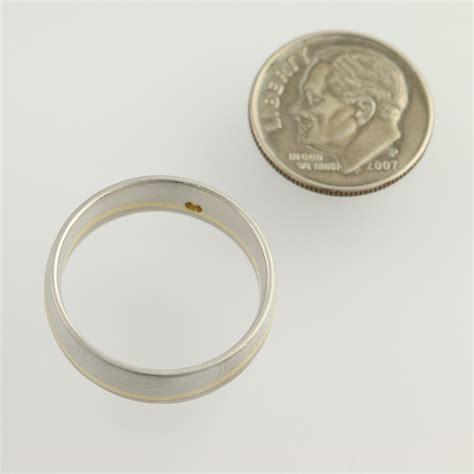 s wedding band 950 platinum 18k yellow gold ring
