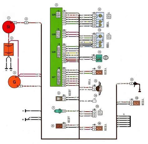 Схема стартер на ваз 21083