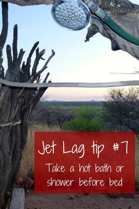 shower before bed avoid jet lag 7 practical tips to make the most of your first vacation days
