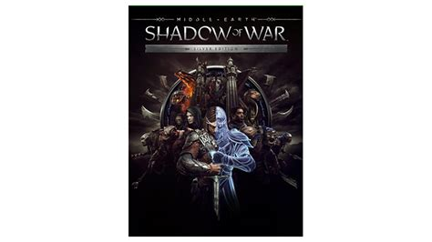 Middle Earth Shadow Of War Silver Edition Reg 3 Ps4 middle earth shadow of war xbox