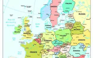 Europe Map Countries And Capitals by Online Maps Europe Map With Capitals