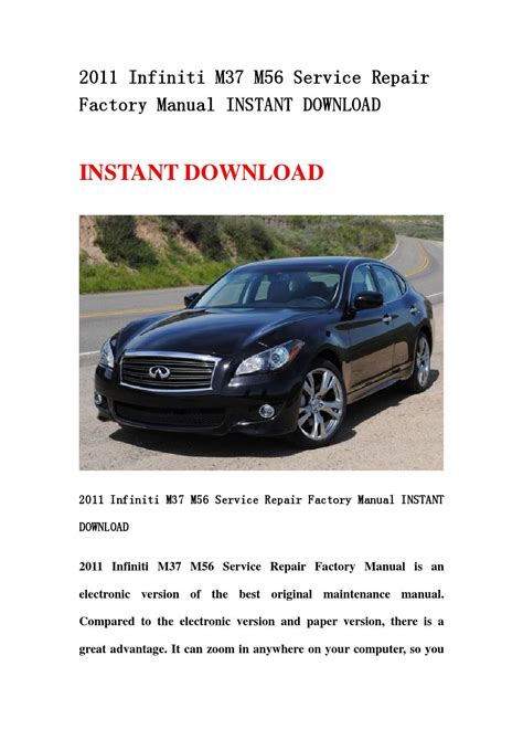 service repair manual free download 2003 infiniti m regenerative braking 2011 infiniti m37 m56 service repair factory manual instant download by hsegfseb issuu