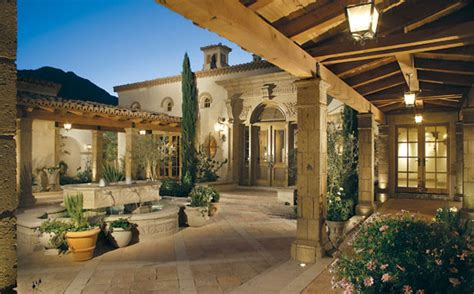 mediterranean house plans with courtyards candelaria